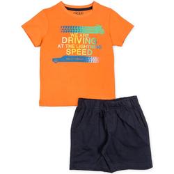 Textil Chlapecké Set Losan 715 8047AC Oranžový