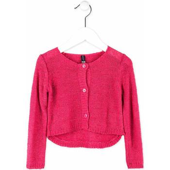 Textil Dívčí Svetry / Svetry se zapínáním Losan 716 5000AD Růžový
