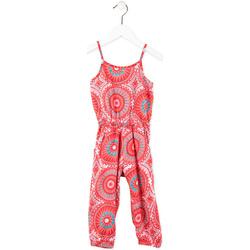 Textil Dívčí Overaly / Kalhoty s laclem Losan 716 7027AD Růžový
