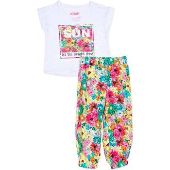 Textil Dívčí Set Losan 716 8000AD Bílý