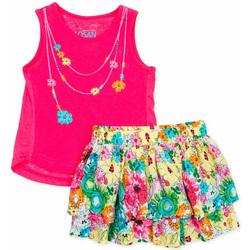Textil Dívčí Set Losan 716 8001AD Růžový