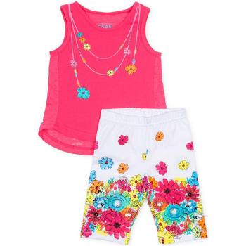 Textil Dívčí Set Losan 716 8002AD Růžový
