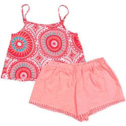 Textil Dívčí Set Losan 716 8009AD Růžový