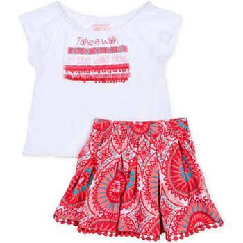 Textil Dívčí Set Losan 716 8010AD Bílý