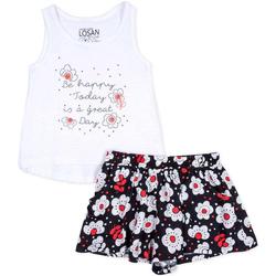 Textil Dívčí Set Losan 716 8013AD Bílý