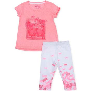 Textil Dívčí Set Losan 716 8014AD Růžový