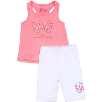 Textil Dívčí Set Losan 716 8015AD Růžový