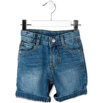 Textil Chlapecké Kraťasy / Bermudy Losan 715 9662AC Modrý