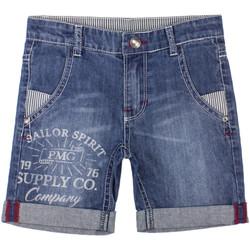Textil Chlapecké Kraťasy / Bermudy Primigi 37242031 Modrý