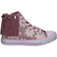 Boty Dívčí Kotníkové tenisky Lulu LV010072S Růžový