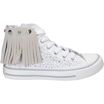 Boty Dívčí Kotníkové tenisky Lulu LV010074T Bílý