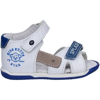 Boty Děti Sandály Melania ME0813A7E.B Bílý
