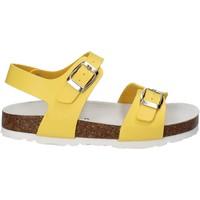 Boty Děti Sandály Bamboo BAM-14 Žlutá
