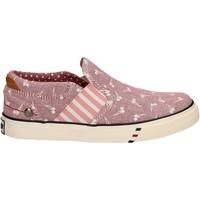 Boty Dívčí Street boty Wrangler WG17121 Růžový
