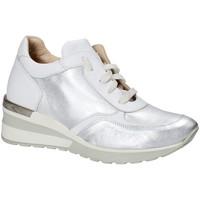 Boty Ženy Nízké tenisky Exton E06 Stříbrný