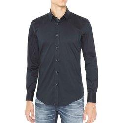 Textil Muži Košile s dlouhymi rukávy Antony Morato MMSL00415 FA450001 Modrý