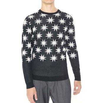 Textil Muži Svetry Antony Morato MMSW00742 YA400006 Černá
