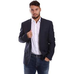 Textil Muži Saka / Blejzry Antony Morato MMJA00314 FA600040 Modrý