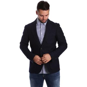Textil Muži Saka / Blejzry Antony Morato MMJA00322 FA500034 Modrý