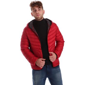 Textil Muži Prošívané bundy Gaudi 721BU35009 Červené