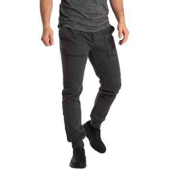 Textil Muži Teplákové kalhoty Key Up SF19 0001 Šedá
