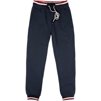 Textil Muži Teplákové kalhoty Key Up SF24 0001 Modrý
