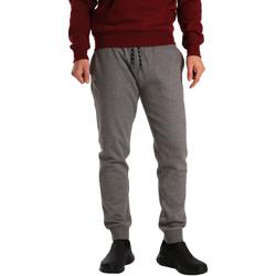 Textil Muži Teplákové kalhoty Key Up GV77 0001 Šedá