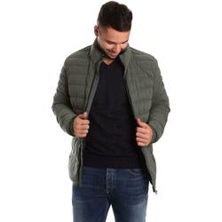 Textil Muži Prošívané bundy Ea7 Emporio Armani 6YPB23 PNB7Z Zelený