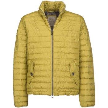 Textil Muži Prošívané bundy Geox M7429C T2432 Žlutá