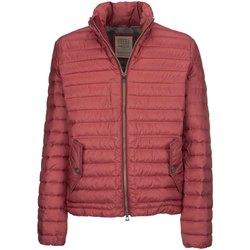 Textil Muži Prošívané bundy Geox M7429C T2432 Červené