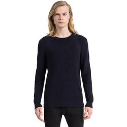 Textil Muži Svetry Calvin Klein Jeans J30J305473 Modrý