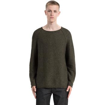 Textil Muži Svetry Calvin Klein Jeans J30J305476 Zelený