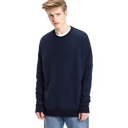 Textil Muži Svetry Tommy Hilfiger DM0DM03033 Modrý