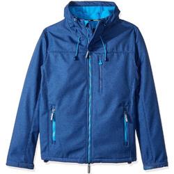 Textil Muži Větrovky Superdry M50000ZOF4 Modrý