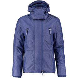 Textil Muži Parky Superdry M50007ZPF3 Modrý