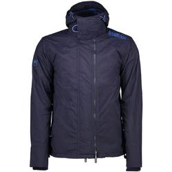 Textil Muži Parky Superdry M50009ZPF6 Modrý