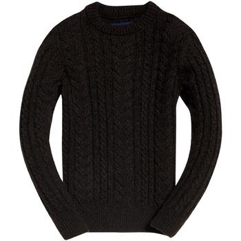 Textil Muži Svetry Superdry M61283KPF4 Černá