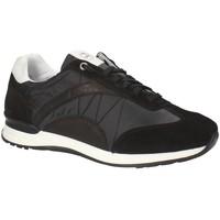 Boty Muži Nízké tenisky Exton 661 Černá