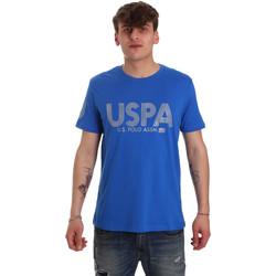 Textil Muži Trička s krátkým rukávem U.S Polo Assn. 57197 49351 Modrý
