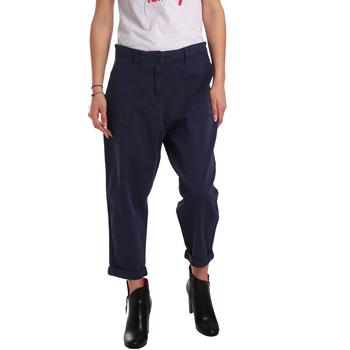 Textil Ženy Mrkváče Tommy Hilfiger DW0DW02588 Modrý