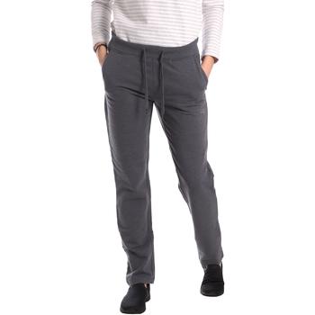Textil Ženy Teplákové kalhoty Key Up GE31 0001 Šedá