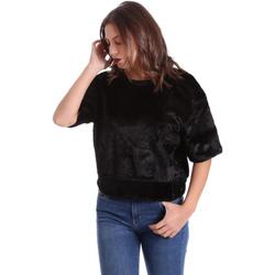 Textil Ženy Mikiny Converse 10006217 Černá