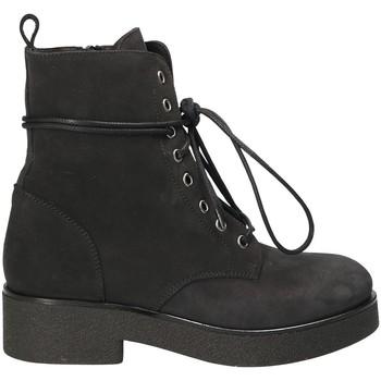 Boty Ženy Polokozačky Mally 4235 Černá