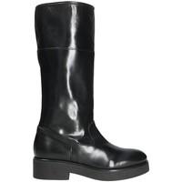 Boty Ženy Kozačky Mally 5096Z Černá