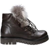 Boty Ženy Kotníkové boty Mally 5985 Hnědý