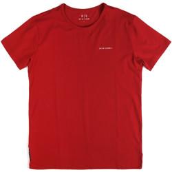 Textil Muži Trička s krátkým rukávem Key Up 2G69S 0001 Červené