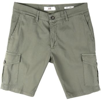 Textil Muži Kraťasy / Bermudy Sei3sei PZV130 8157 Zelený