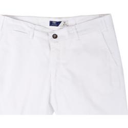 Textil Muži Kraťasy / Bermudy Sei3sei PZV132 81497 Bílý