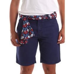 Textil Muži Kraťasy / Bermudy Gaudi 911BU25032 Modrý