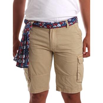 Textil Muži Kraťasy / Bermudy Gaudi 911BU25034 Béžový